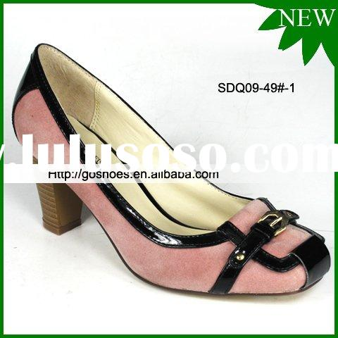 OEM Low Heel Dress Shoes direct supply from factory