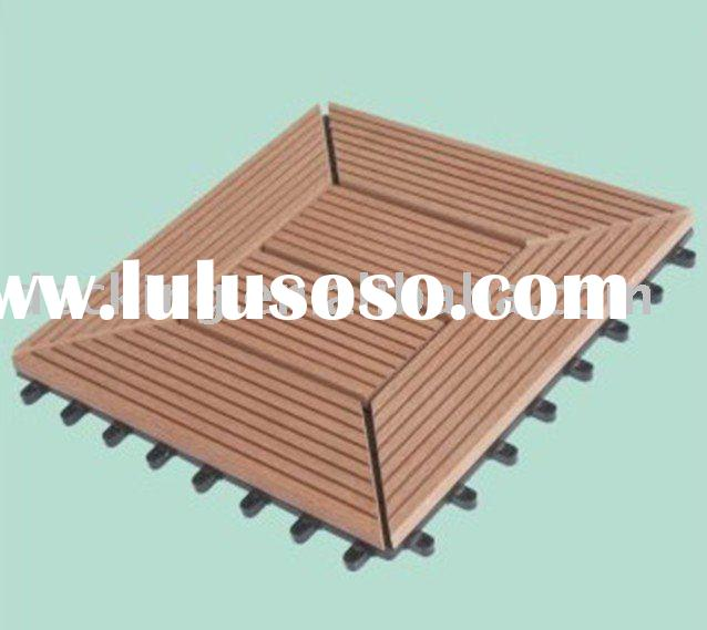 Outdoor wpc floor tiles ---(wood-plastic material)