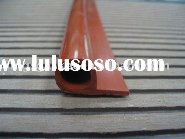 P type silicone wooden door frame seal JEB-V2