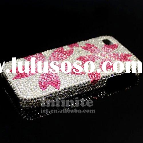 Pink Jeweled Cell Phone Cases 2011 Newest
