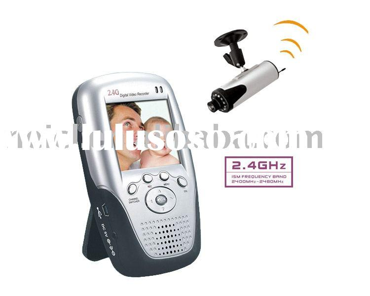 Portable DVR Wireless Baby Monitor