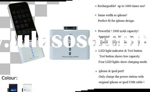 Portable Power Station/Battery/Charger for iphone 3G/iphone/ipod