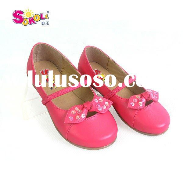 Retail and Wholesale Little Girl Shoes Manufacture