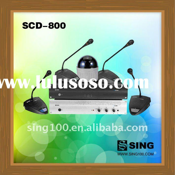 SCD-800 camera tracking conference system