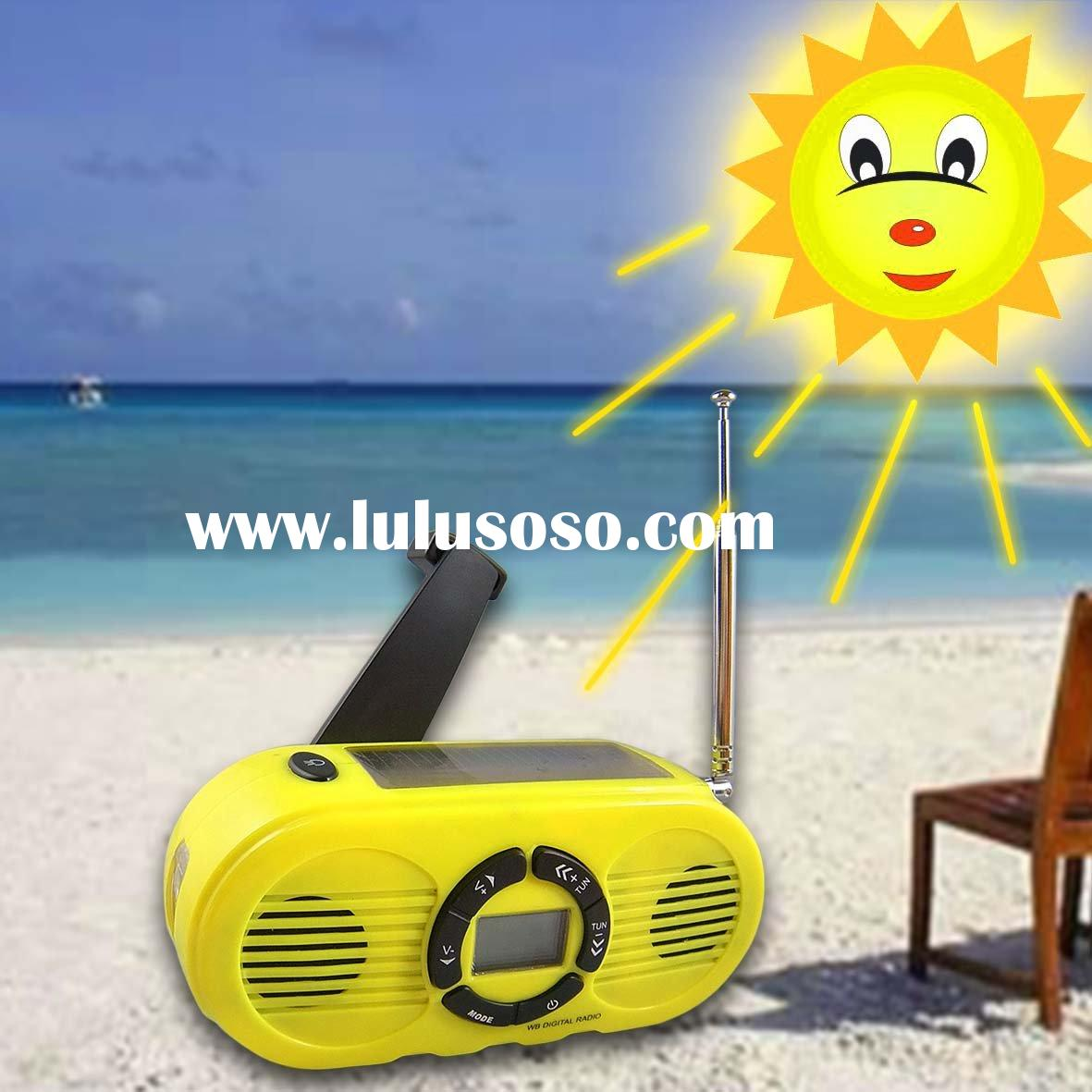 Solar Radio with Mobile phone charger