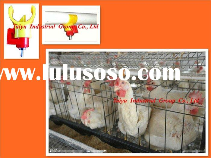 TAIYU-4 chicken layer poultry cages (With feeding system-feeder hopper,drinking system-nipple drinke