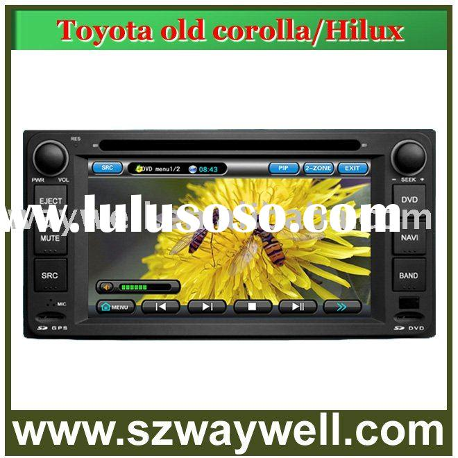 Toyota old corolla/ Hilux Car DVD GPS Navigation Bluetooth Radio IPOD Touch Screen Video Audio Playe
