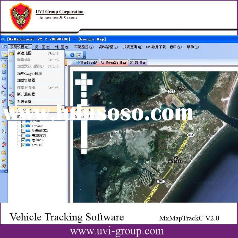Web-based Software for Vehicle Tracking System, AVL