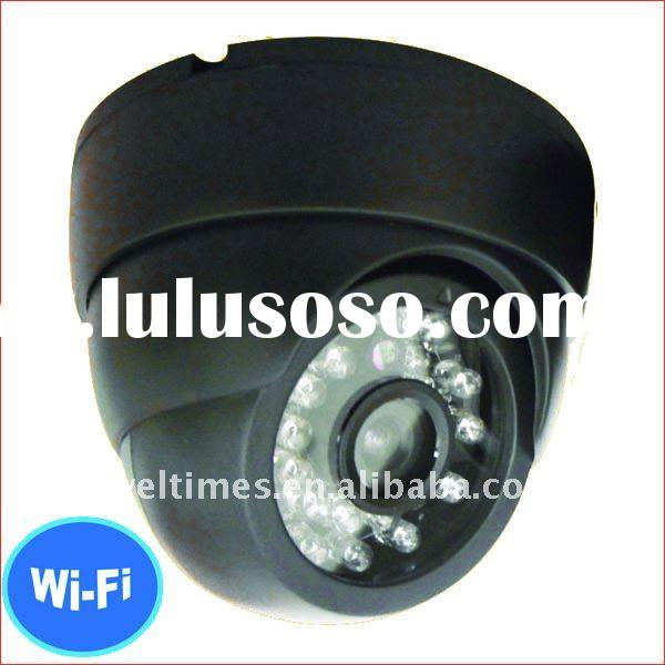 With 24pcs LED for 3-8 meters night vision distance wireless ip camera battery nowered/wireless came