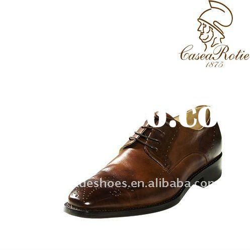 brown leather men dress shoes 2011