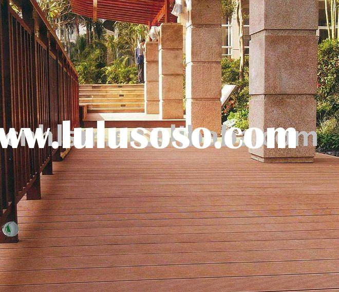 lowprice wood plastic outdoor flooring