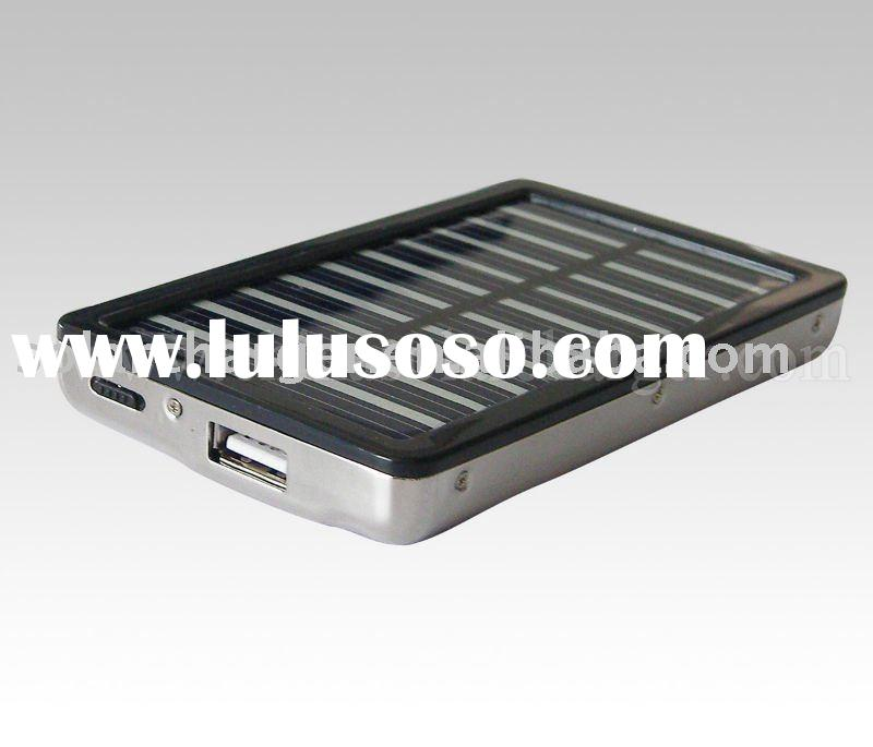 most popular Solar Charger for Samsung mobile phone Stainless Steel Case
