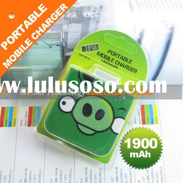 portable mobile charger 1900mAh,portable phone charger