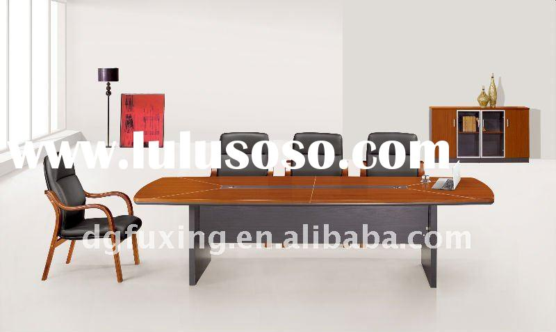 rectangle wooden conference table