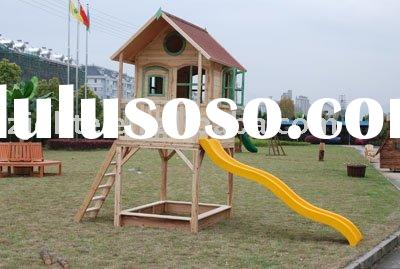 wooden play house, wooden Children house, wooden house, toy house