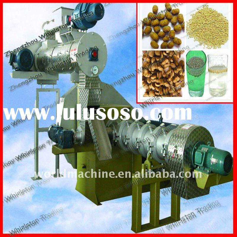 0.12-4.5t/h automatic floating fish feed pellet machine