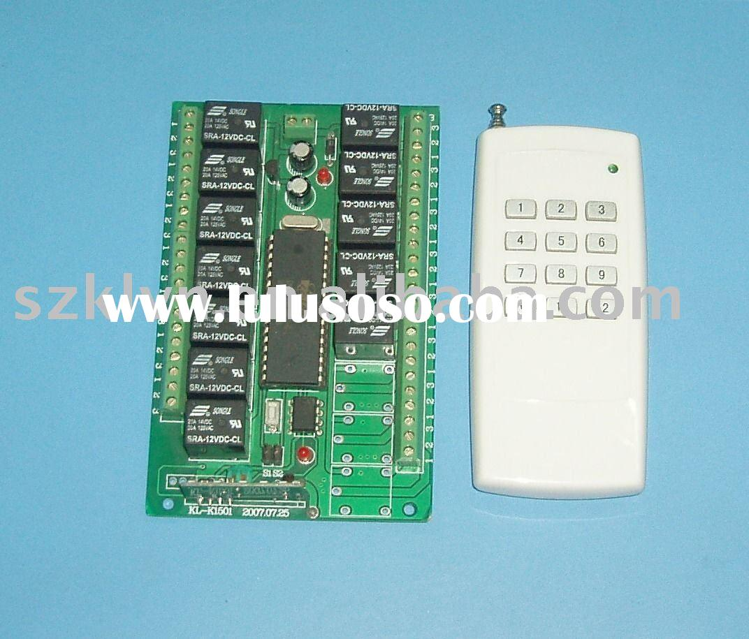 12V 12-Channel wireless remote control switch(KL-K1201)