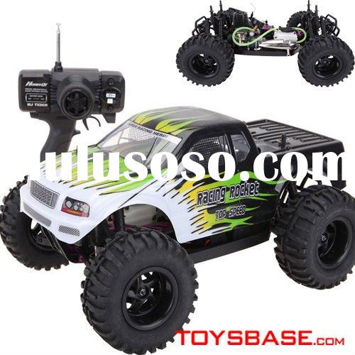 15 Levels Engine Gas Powered 1:10 Radio Remote Control RC Car