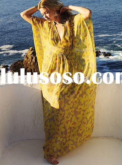 2010 New ! Caftan maxi Dress