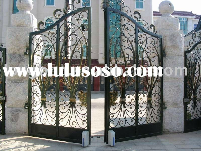 Cast Iron Gate Design For Home Park Or Garden For Sale