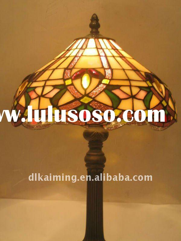 2011 best stained glass tiffany decorative lamp