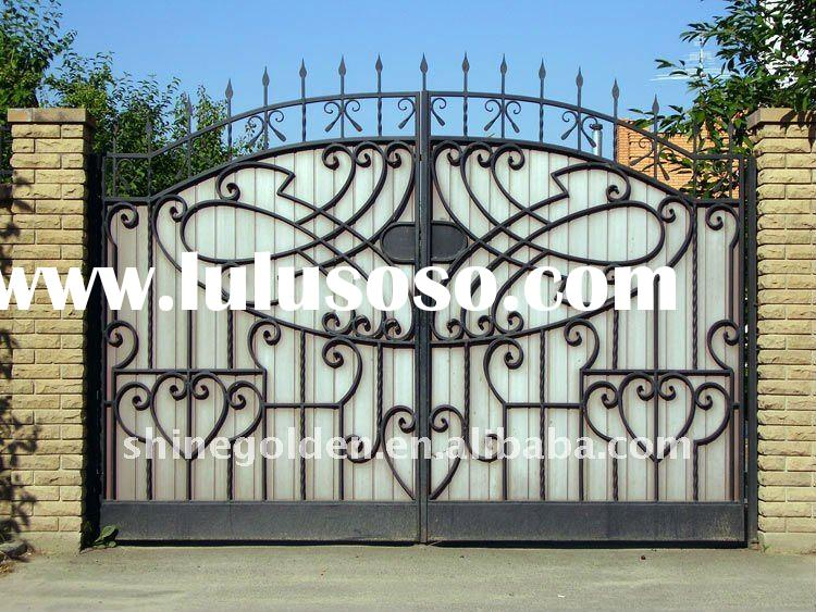 2011# brief beauty Style iron Gate,house gate,steel gate