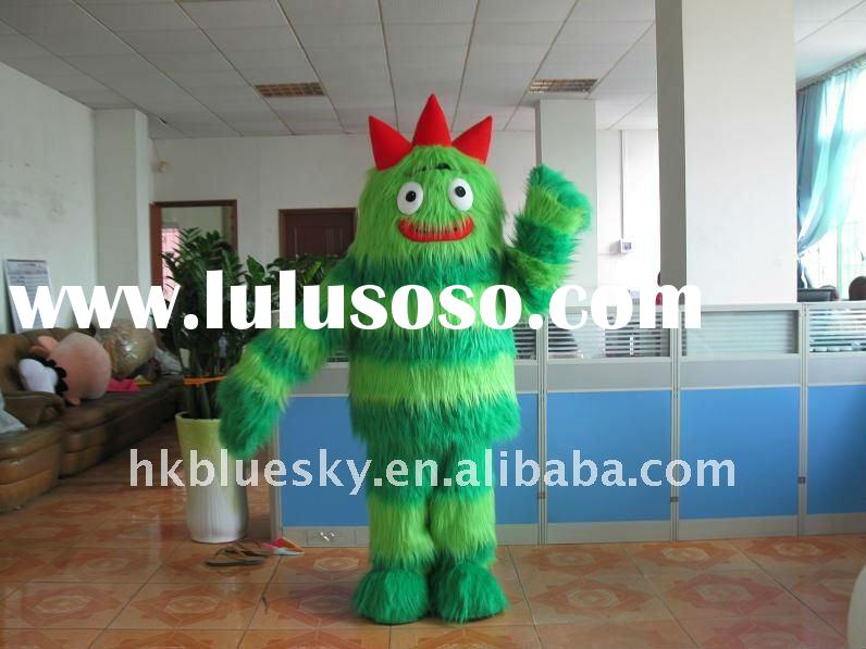 2011 hot Yo Gabba Gabba mascot costume/party costume