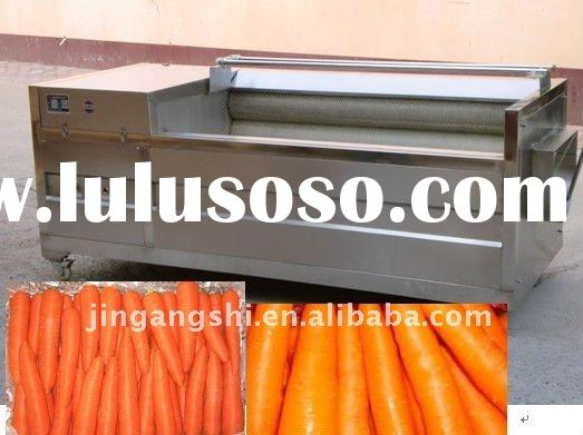 2012 hot sell potato and carrot skin peeling machine / potato and carrot washing and peeler 0086-152