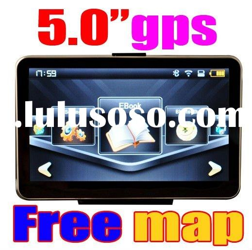 "2GB sd card 5"" Car GPS Navigation"
