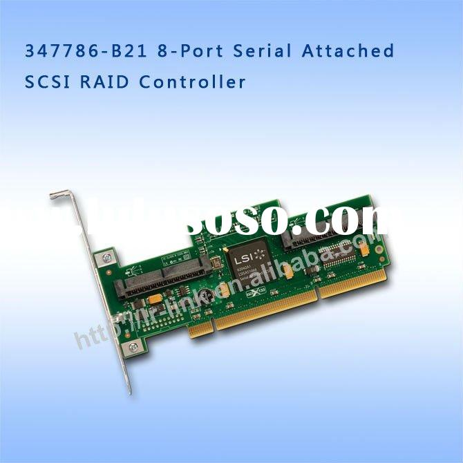 347786-B21 8-Port Serial Attached HBA SCSI SAS RAID Controller