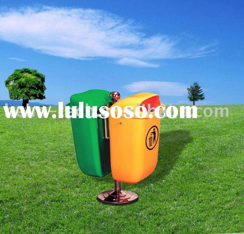 50L Public Waste Recycling Bin