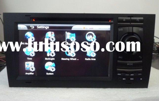 Audi A6 car dvd Player with GPS,Bluetooth,IPOd,USB,TV,Radio,Wheel Steering Control