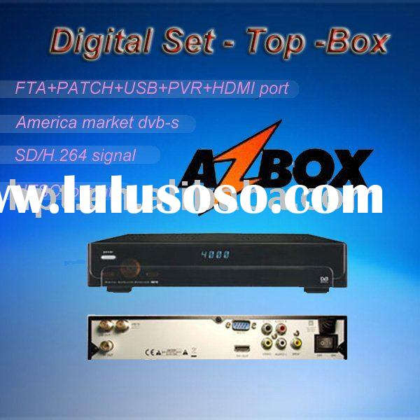 Azbox AZ America s810b digital satellite receiver(dvb-s) set top box