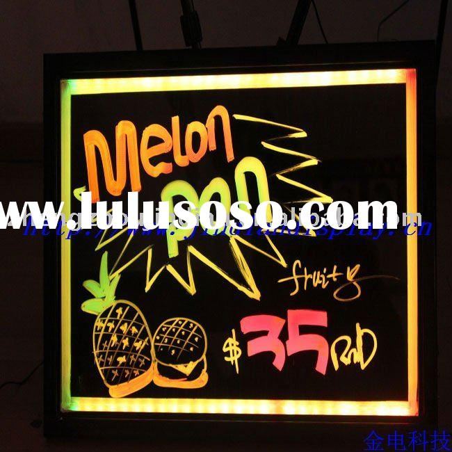 Brilliant advertising products of LED screen TV Board