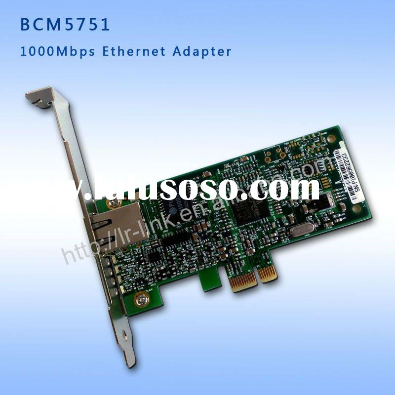 Broadcom BCM5751 Gigabit PCI Express Ethernet Network Adapter