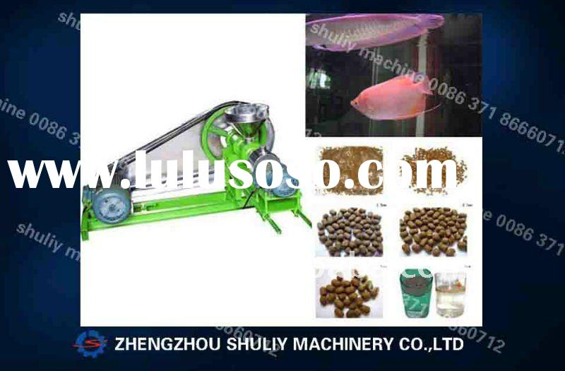 China produce floating fish feed pellet making machine(0086-13837171981)