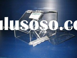 Clear Acrylic Bulk Food Bin With Scoop Holder