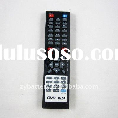 DVD player universal remote control
