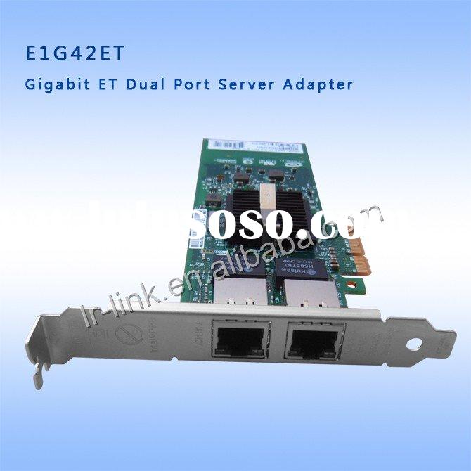 E1G42ET 10/100/1000Mbps Dual Port Server pci-e card 2 x RJ45