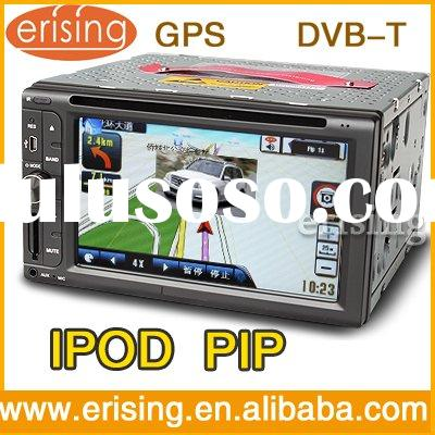Erisin 2 Din 6.2 Inch Car Audio GPS Navi.Multimedia System DVD USB