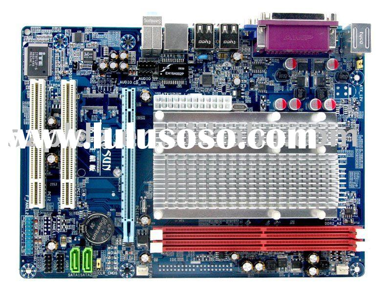 Fanless MATX NetTop intergrated CPU and VGA Intel PineTrail D410 + NM10 all-in-one desktop motherboa