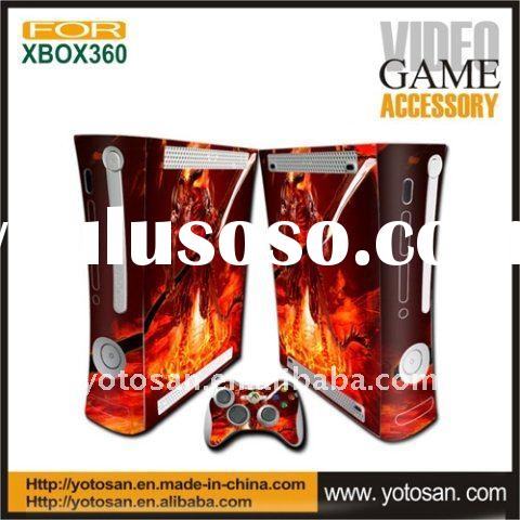For xbox 360 console and controller skin cover