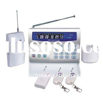 GSM Alarm System with LCD Screen