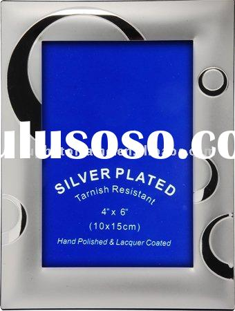 High Quality Silver Plated Photo Frame