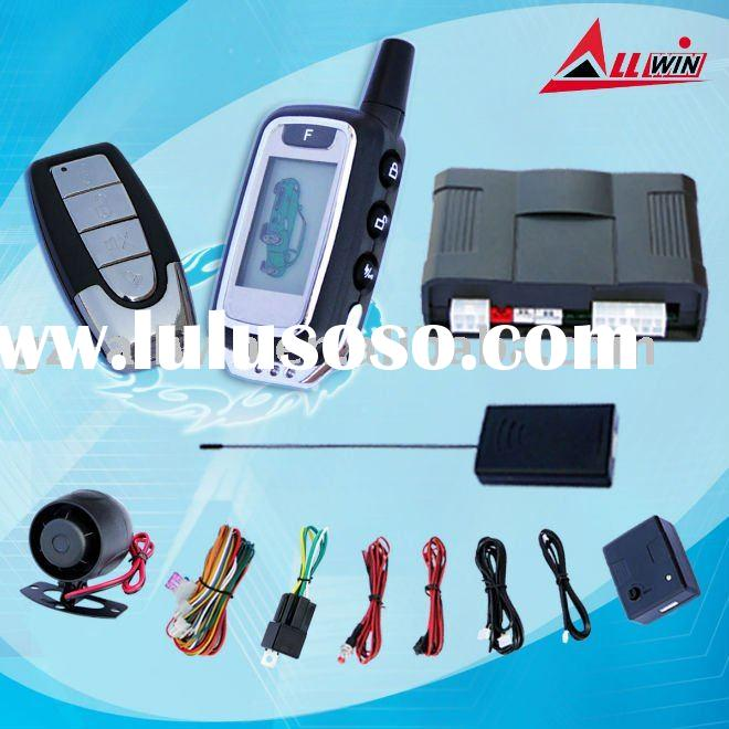 Hot-selling cheap FM two way car alarm security system FM-S01-B