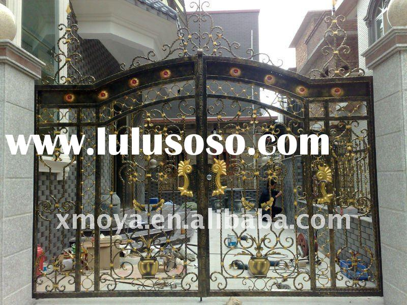 Apartment Entrance Main Gate Design Iron Main Gate Designs