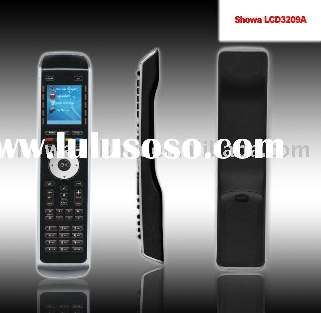 LCD Universal remote control, with air mouse or flying mouse function- Logitech Harmony style