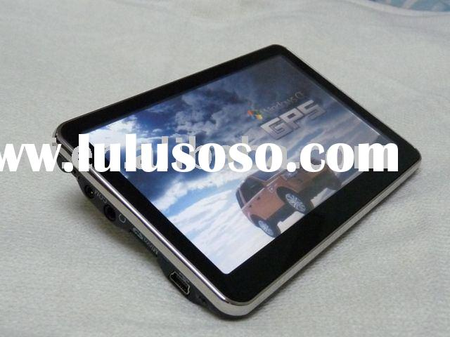 Latest 5 inch gps in car, navigation gps system with bluetooth