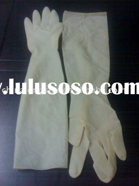 Medical Disposable Sterile Latex Gloves