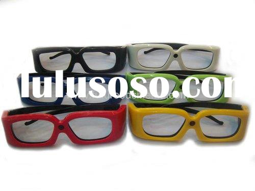 New Model!!! Universal Active shutter 3D glasses for 3D TV /3D glasses